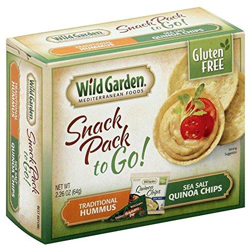 Wild Garden Hummus & Quinoa Chips Gluten-free Traditional