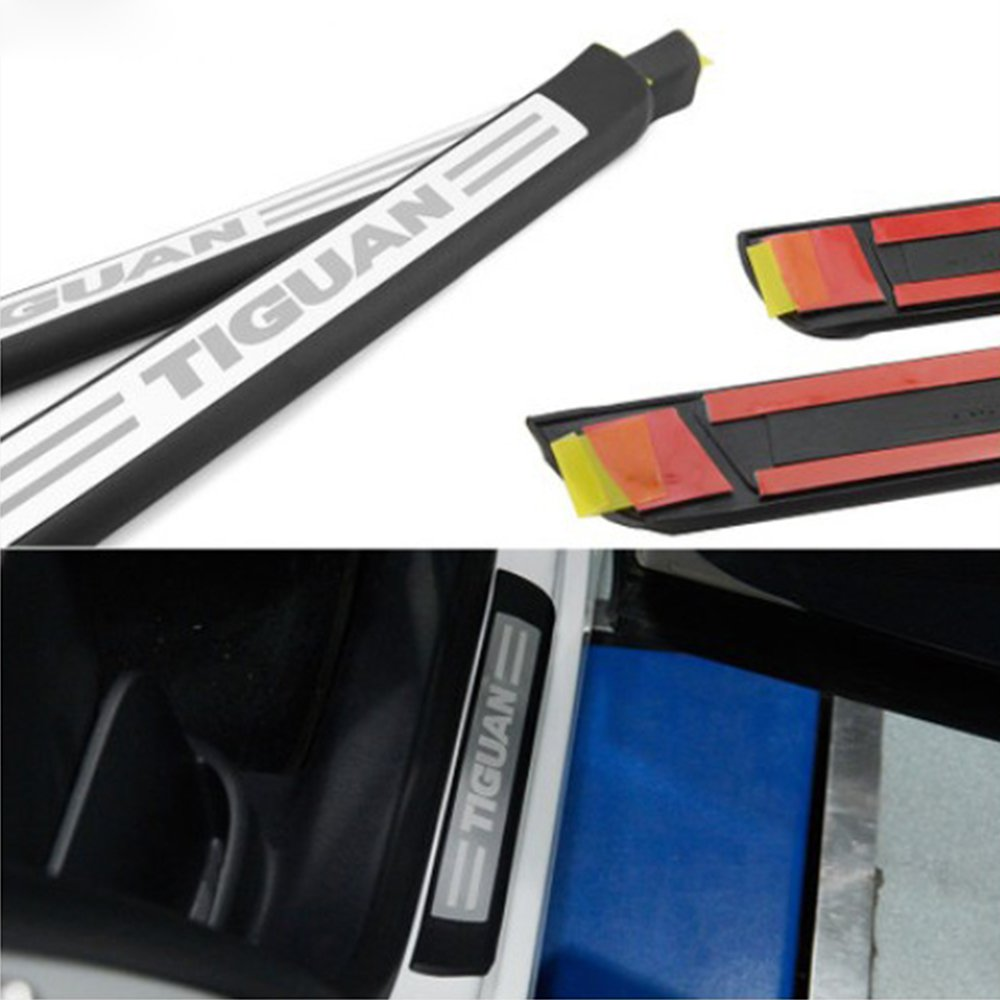 Stainless Door Sill Scuff Plate for VW Tiguan 2009-2011 2012 2013 2014 2015