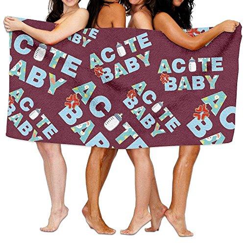 Doormat bags ACUTE BABY 100% Cotton Luxury Bath Towel Absorb
