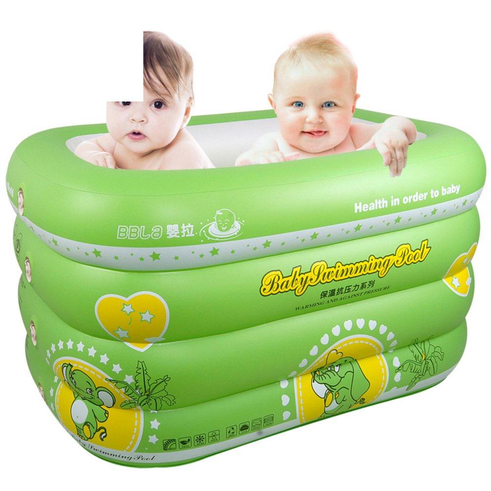 Baby Schwimmbad/Neugeborenen nach Hause aufblasbare Schwimmbecken/Dicke Bad Babyschale/Junge Kinder Hüpfburg Fässer schwimmen-A