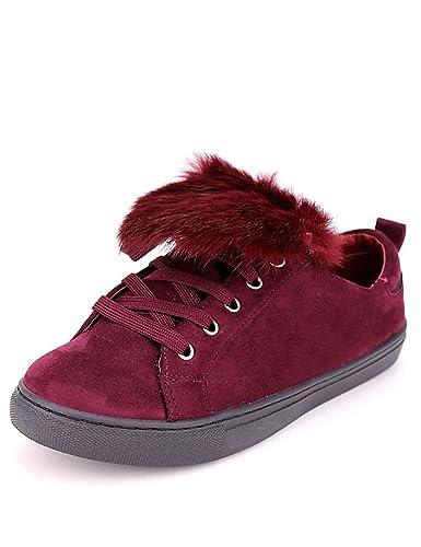 Stand Basket Femme It's Cendriyon Bordeaux Chaussures E84pdqdw