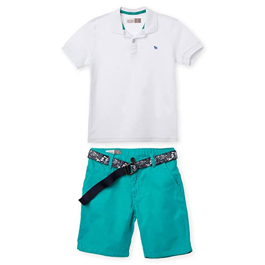 Amazon.com: OFFCORSS Polo Outfits for Boys Shorts Pique Shirt Conjuntos para Niños Grandes: Clothing