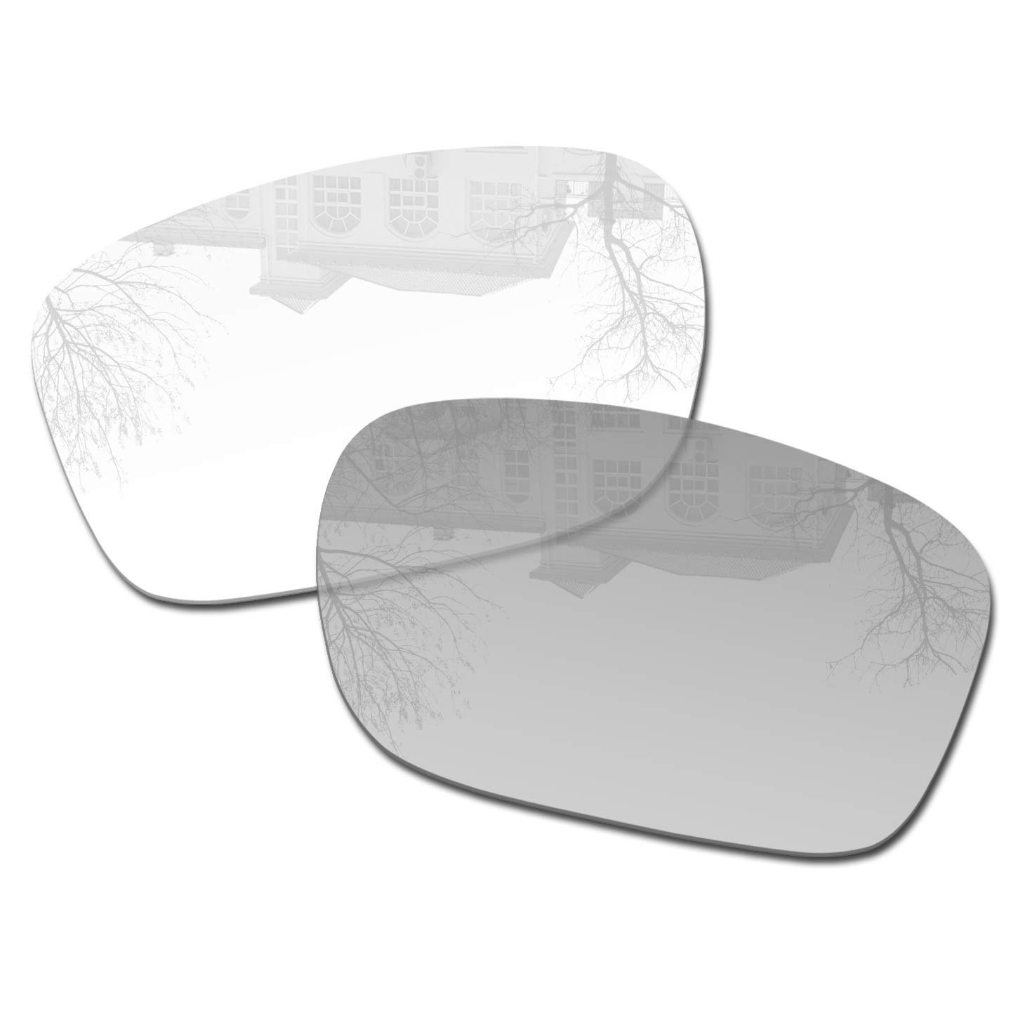Millersawp Holbrook OO9102 Replacement Lenses Compatiable with Oakley Sunglass-Clear/Grey Photochromic by Millersawp