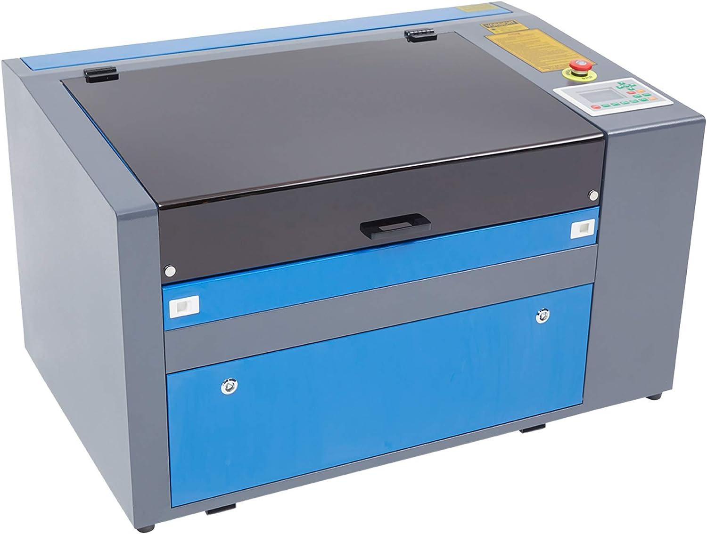 Z ZELUS 50W CO2 Graviermaschine Laser 300 x 500 mm Engraving Maschine Lasergravierer Lasergravurmaschine digitale LCD-Displays 300 x 500 mm // 50 W mit USB-Anschluss Software enthalten