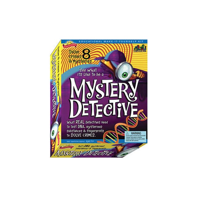 Scientific Explorers Mystery Detective CSI for Kids Science Kit