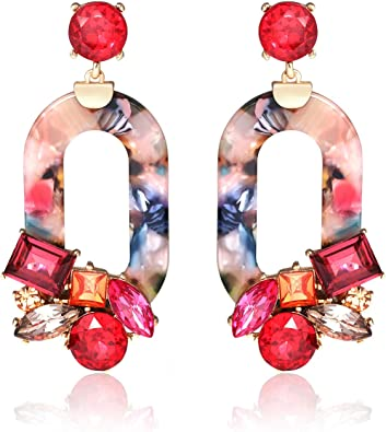 Resin Earrings Tortoise Earrings Tortoise Shell Earrings Tortoise Shell Earrings Acetate Earrings