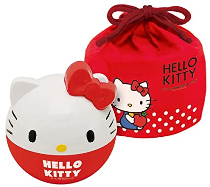 a7b2beec9 Amazon.com: Hello Kitty w/Pouch Lunchbox LMT3 Ball Cube by Skater ...