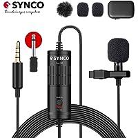 SYNCO Lav S6 Microfono-Solapa-Microfono-Lavalier-Condensador Omnidireccional 6M, Micrófono