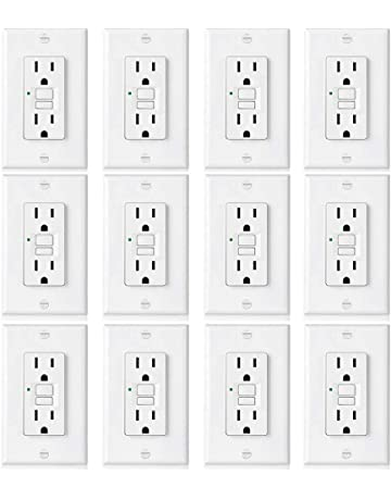 Ground Fault Circuit Interrupter Outlets