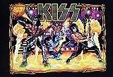 J-4920 Kiss American Rock Band Poster - Rare New - Image Print Photo