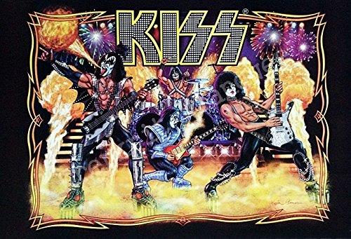 (J-4920 Kiss American Rock Band Poster - Rare New - Image Print Photo)