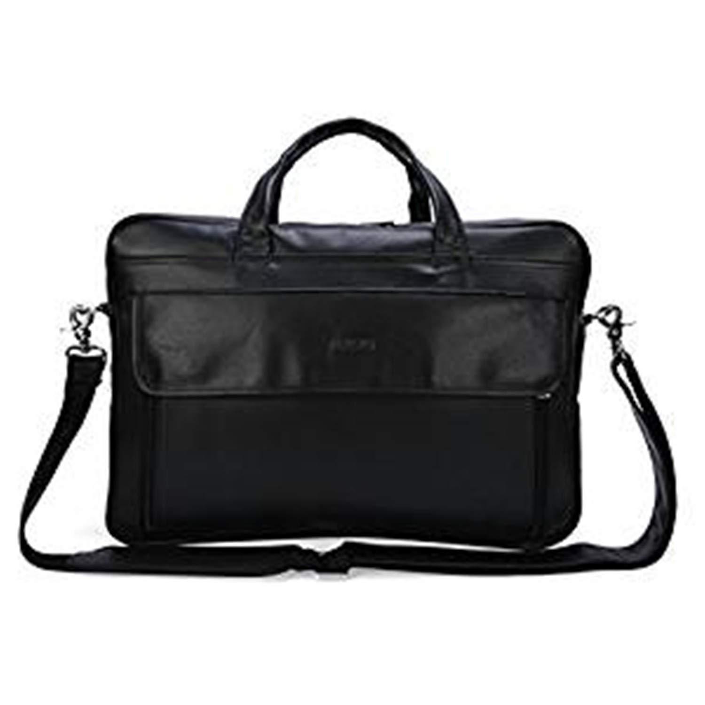 VESIA Genuine Leather Men\'s Briefcase Laptop Bag Business Messenger Handbag Weekender Sport Bag