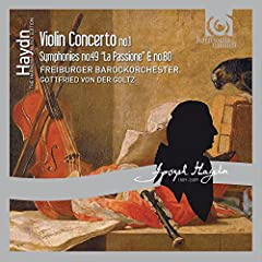 New in the Haydn Edition series is this recording of music that features music from Haydn's 'Strum und Drang' period. Here, the musicians of the Freiburger Barockorchester perform the symphony known as La Passione, a work bathed in an intense...