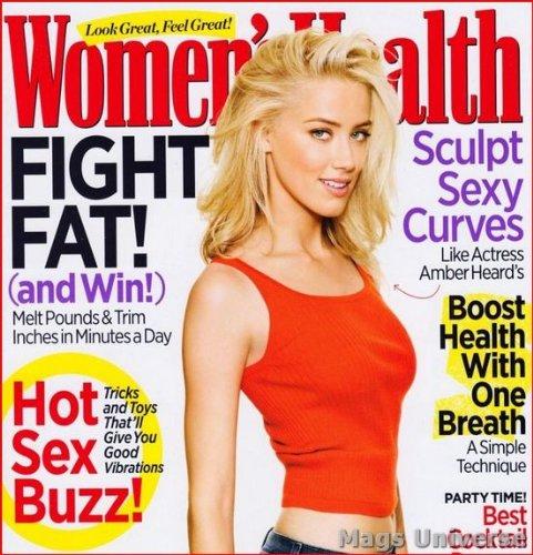 Amber Heard - Women's Health Magazine - December 2011 - The Rum Diary