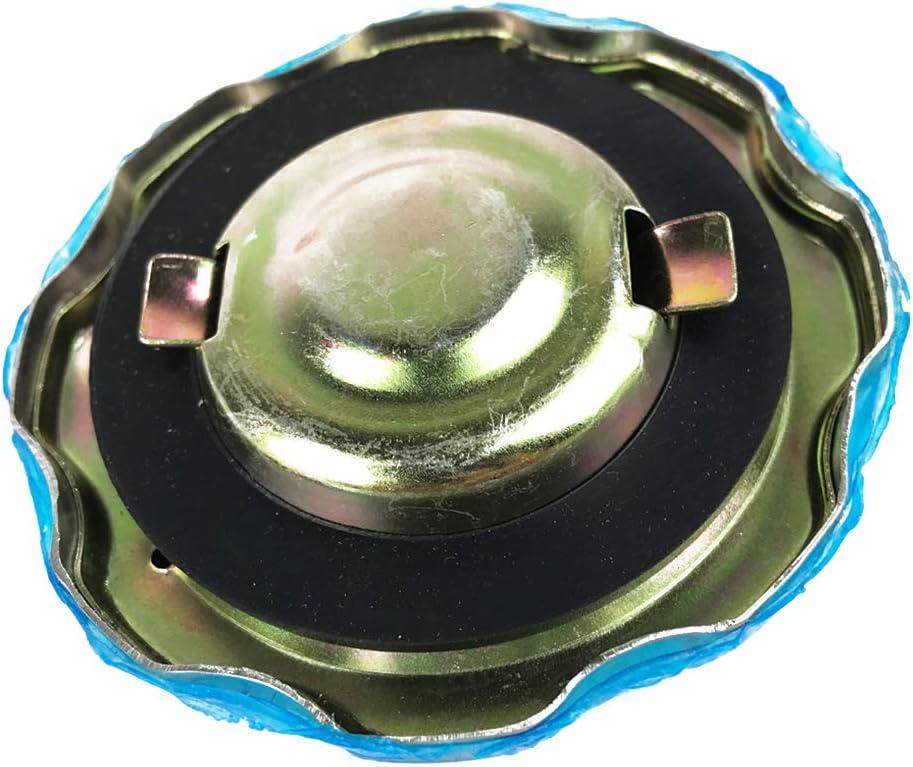 Busirde Chrom/é Voiture Automatique du r/éservoir de Carburant de Compatible avec Cap GX GX160 GX200 GX240 GX270 GX340 GX390