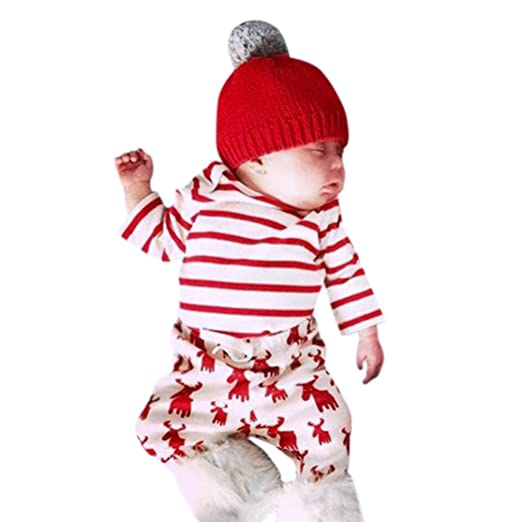 Amazon.com: Baby Christmas Outfits, UMFun For 3~18 Months Kids Xmas ...