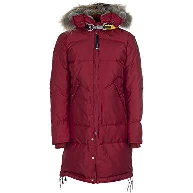 Parajumpers Long Bear Down Jacket - Women's Red, ...