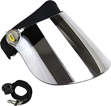 Clear UV400 Protective Face-Fit Faceshield