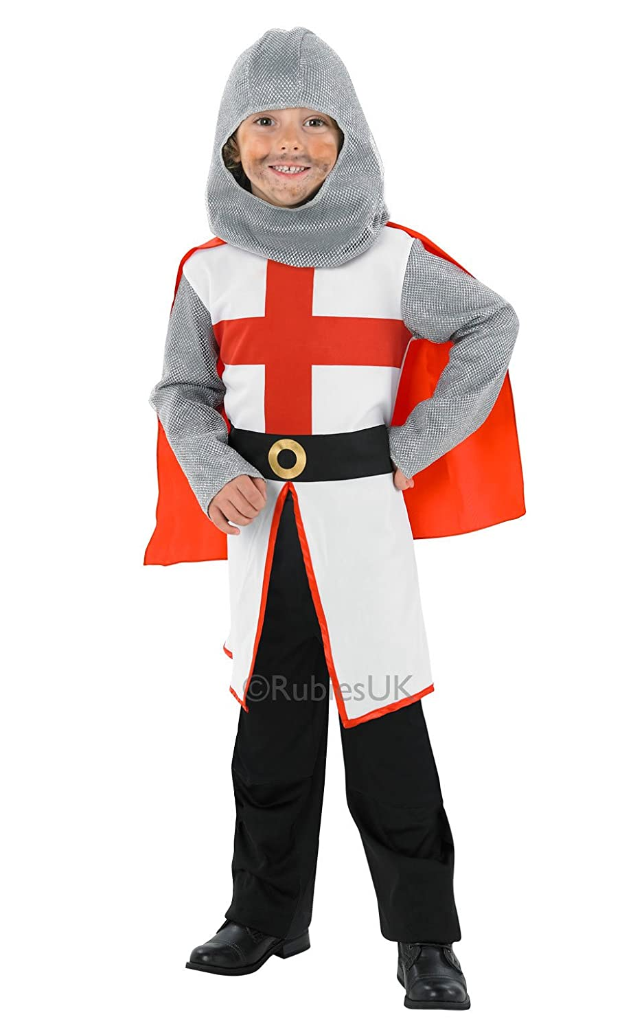 Childrens St George Knight Fancy Dress Costume King Outfit 7-8 Yrs Amazon.co.uk Clothing  sc 1 st  Amazon UK & Childrens St George Knight Fancy Dress Costume King Outfit 7-8 Yrs ...