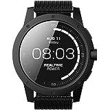 MATRIX POWER WATCH BLACK メンズ 腕時計 充電不要 スマートウオッチ