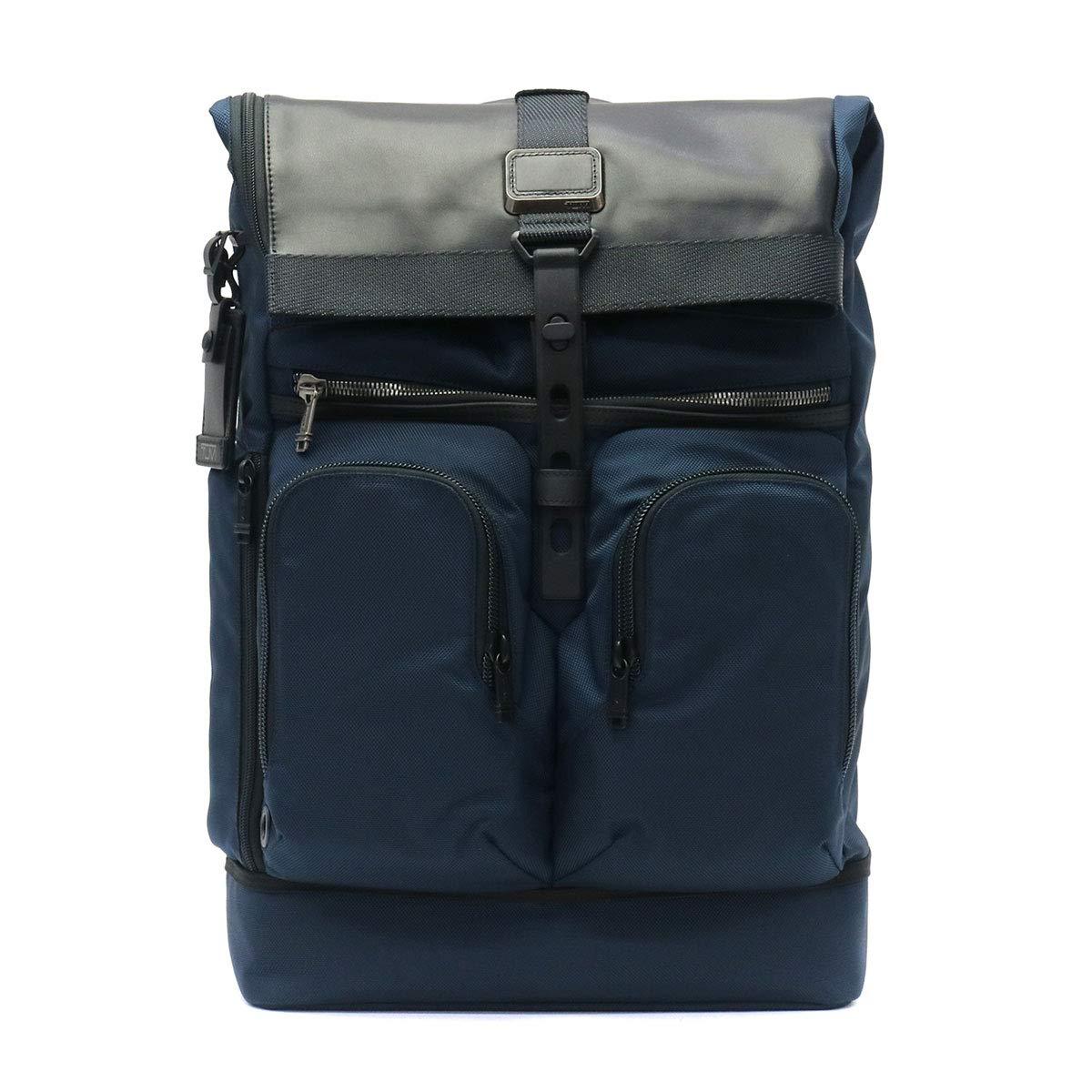 [トゥミ]TUMI アルファ ブラヴォ ALPHA BRAVO London Roll-Top Backpack リュックサック 232388 B07NFFVB5X ネイビー