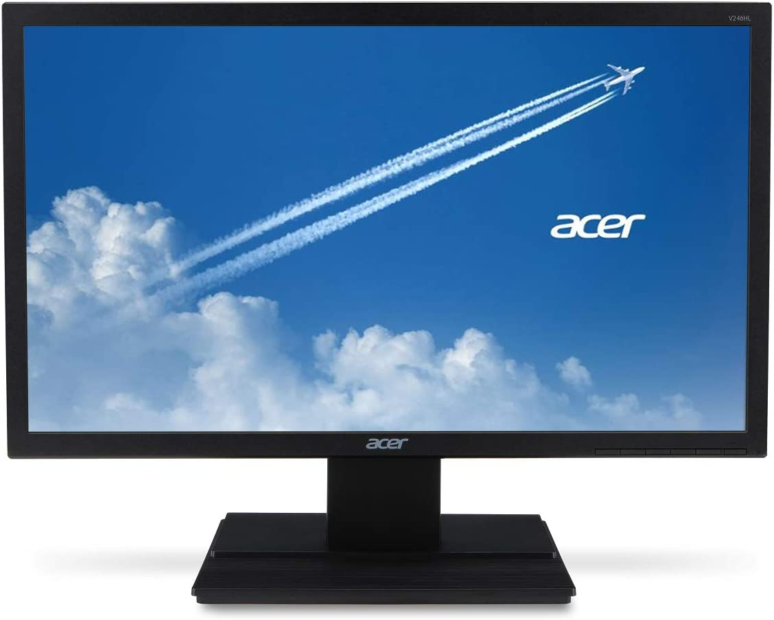 "Acer V246HL bip 24"" Full HD (1920 x 1080) TN Monitor (Display Port, HDMI & VGA Ports)"