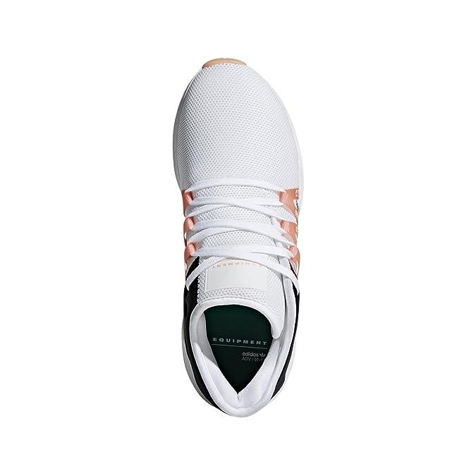 new style 188ab bdfde Amazon.com  adidas Womens EQT RACING ADV W Cloud WhiteChalk CoralCore  Black - CQ2156 (9.5 B(M) US)  Road Running