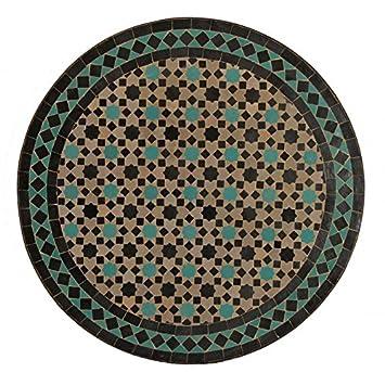 Casa Moro Mosaiktische Gartentische Gartenmöbel Mosaik Tisch Aus Marokko  Beistelltisch Ø 60 Cm M60 42