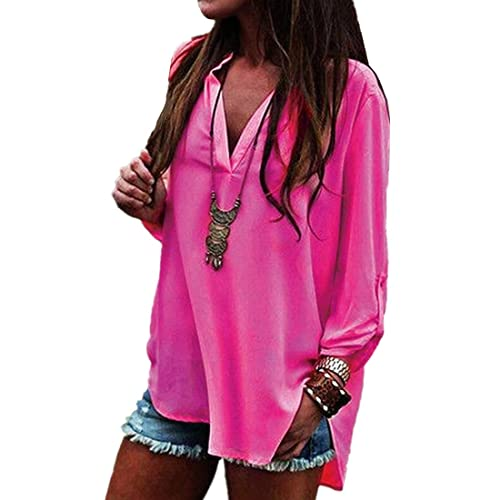 ASCHOEN - Camisas - para mujer Rosa Medium