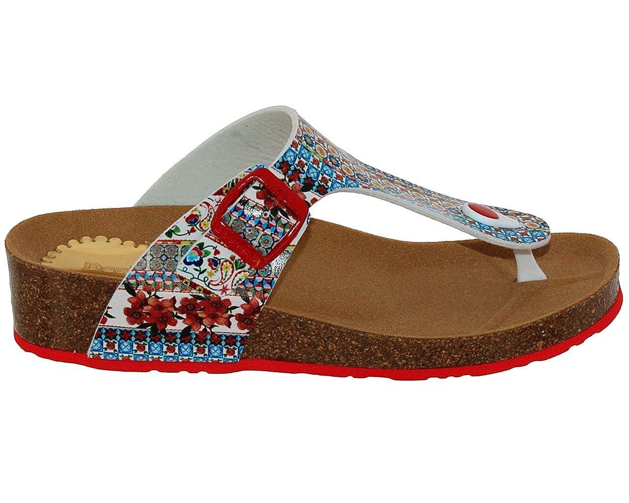 Desigual Beach Schuhes Libra MICRORAPPORT 3061 3061 3061 Rojo roja 4d4954