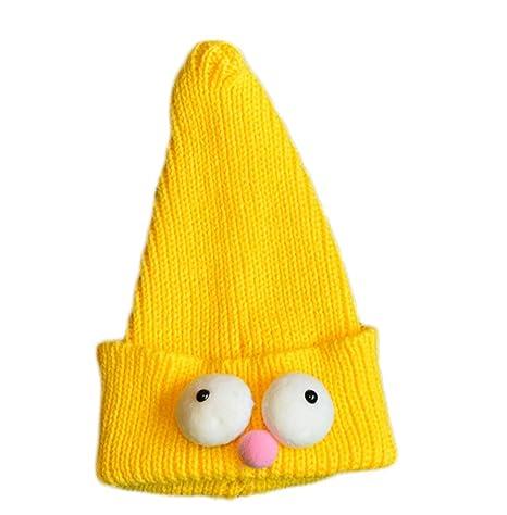 Da.Wa 1X Amarillo Ojos Grandes Bebé Gorro Navidad Sombreros ...