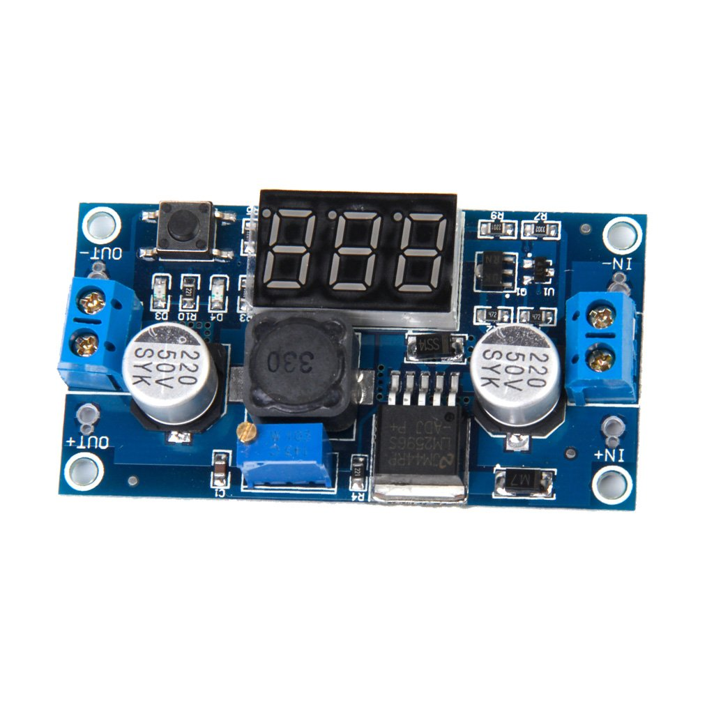 Dolity Dc Voltage Regulator Step Down Power Supply 01v To 50v Variable Module Pack Of 5 Home Audio Theater