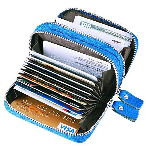 MaxGear Security Wallet RFID Women Wallet Credit Card Wallets RFID Credit Card Case Credit Card Holder for Women Credit Card Organizer Fashion Credit Card Purse