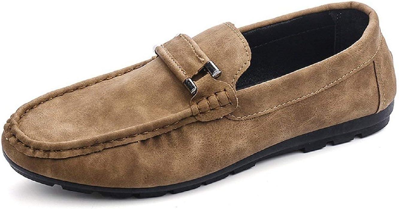 Zapatos de Hombre - Mocasines - Color Beige - ZY - 114
