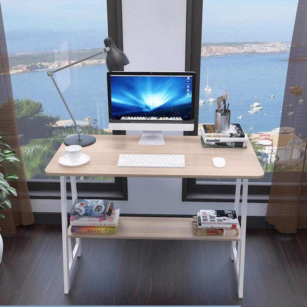 Vintage Desktop for Home Simple Desk Simple Coffee Table Desk Computer Workstation Bedside Sofa Desk Desk (Yellow)