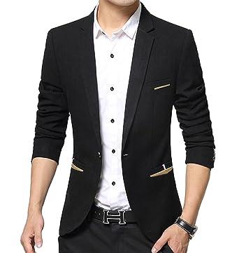 721115608915 Benibos Men s Premium Casual 1 Button Slim Fit Blazer Suit Jacket at ...