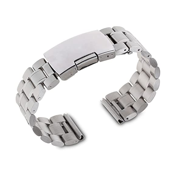 Amazon.com: Gdluck 22mm Metal Watchband Strap Bracelet for ...