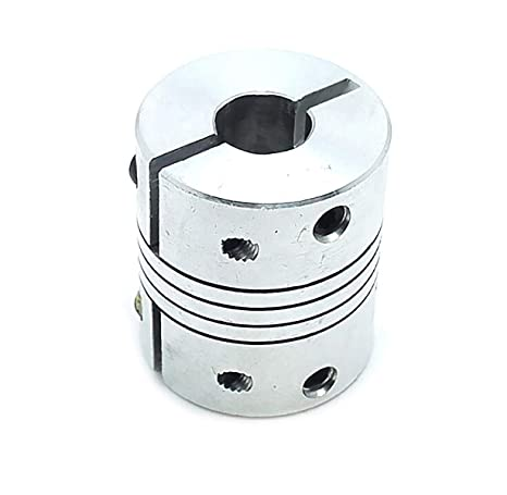 D19L25 Flexible Shaft Coupling CNC Stepper Motor Coupler Steckverbinder 3-10mm