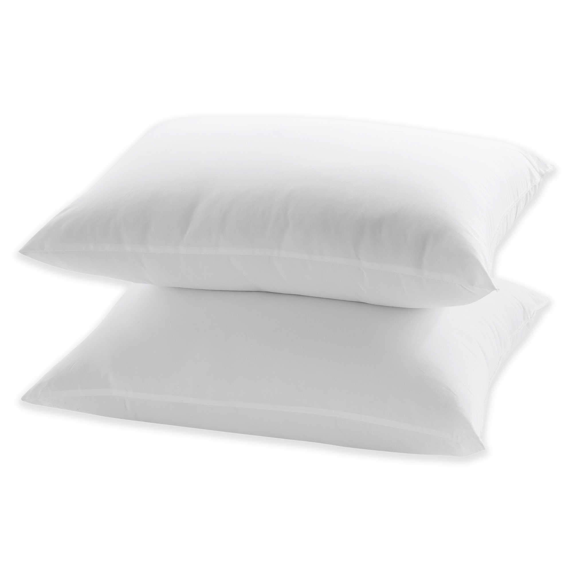 2-Pack Hypoallergenic, Down-Alternative, Bed Pillows (Standard Size)