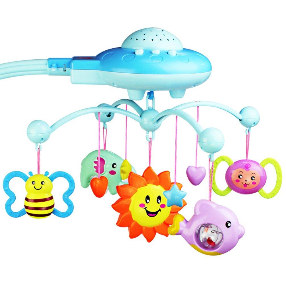 Fongfong Musik Mobile Spieluhr Mobile Cartoon Kinderbett Aufhangen