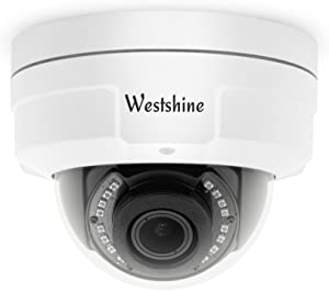 Westshine Security CCTV Dome Camera 1080P 2.8-12mm Varifocal Lens Vandal-Proof Dome Camera 4-in-1 AHD/TVI/CVI/CVBS Camera with OSD Menu Night Vision Home Indoor Outdoor Cameras