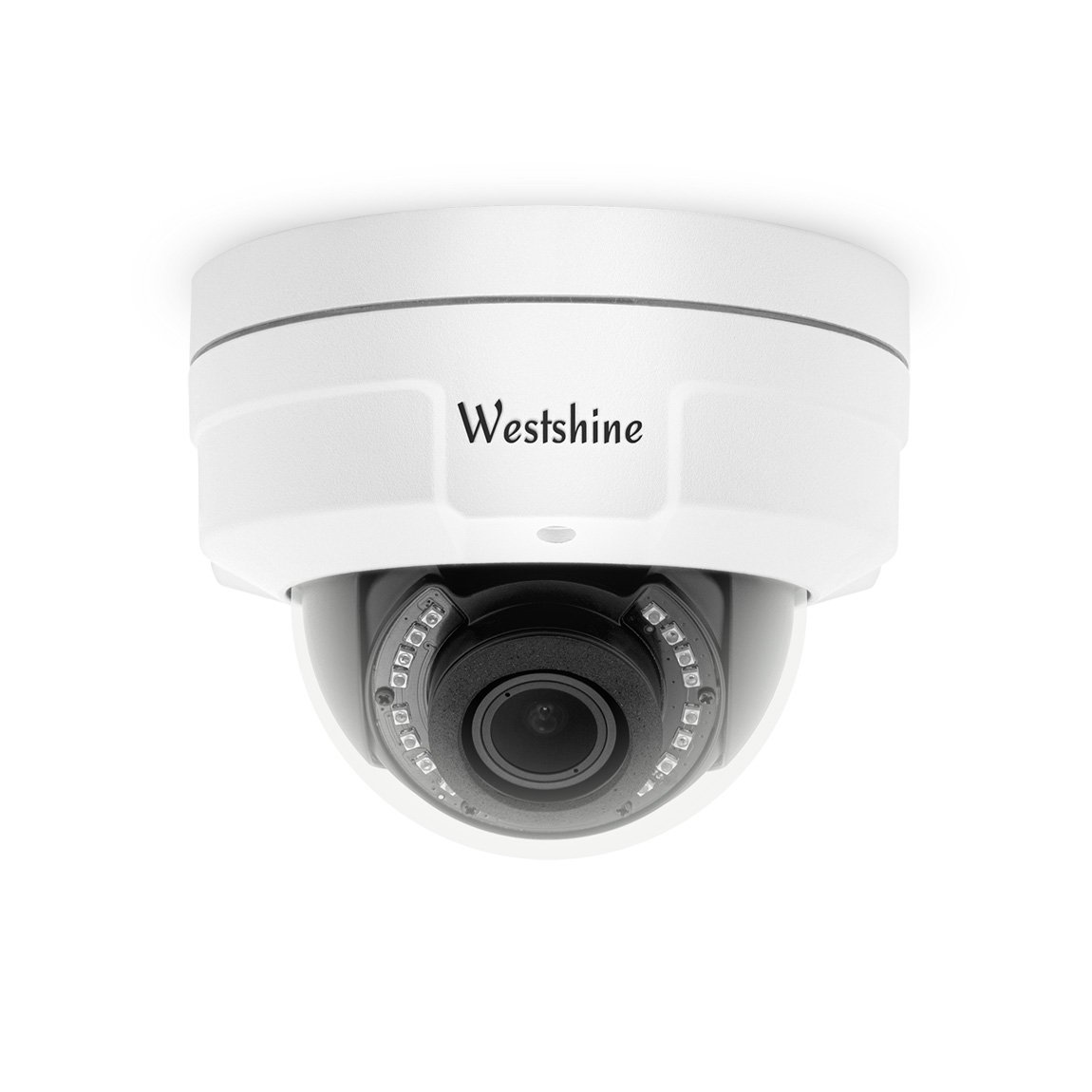 Westshine Security CCTV Dome Camera 1080P 2.8-12mm Varifocal Lens Vandal-proof Dome camera 4-in-1 AHD/TVI/CVI/CVBS Camera with OSD Menu Night Vision Home Indoor Outdoor Cameras WS-HA6201/VF-4N1