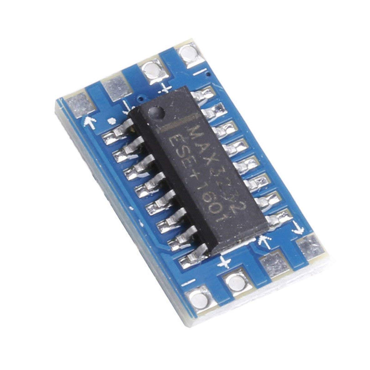 Monllack 5 St/ücke RS232 Zu TTL MAX3232 Konverter Adapter Modul Serielle Schnittstelle Mini Board Neue Hochleistungs Tragbare Gr/ö/ße