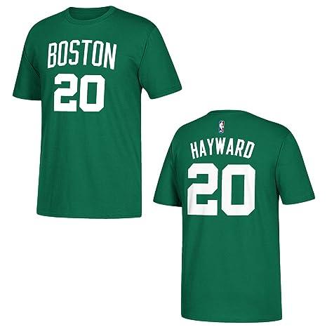 d0108699ec adidas Gordon Hayward Boston Celtics Green Name and Number T-Shirt XX-Large