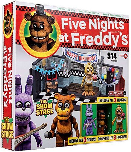 McFarlane Toys Five Nights at Freddys The Show Stage Construction Set (Bendy And The Ink Machine Play Now)