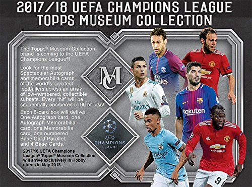 2018 Topps Champions League Museum Collection Soccer Hobby 12-Box Case by Topps Champions League Museum Soccer