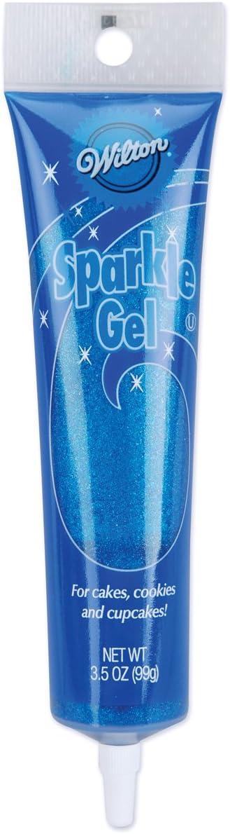 Wilton Sparkle Gel Icing, 3.5 oz, BLUE