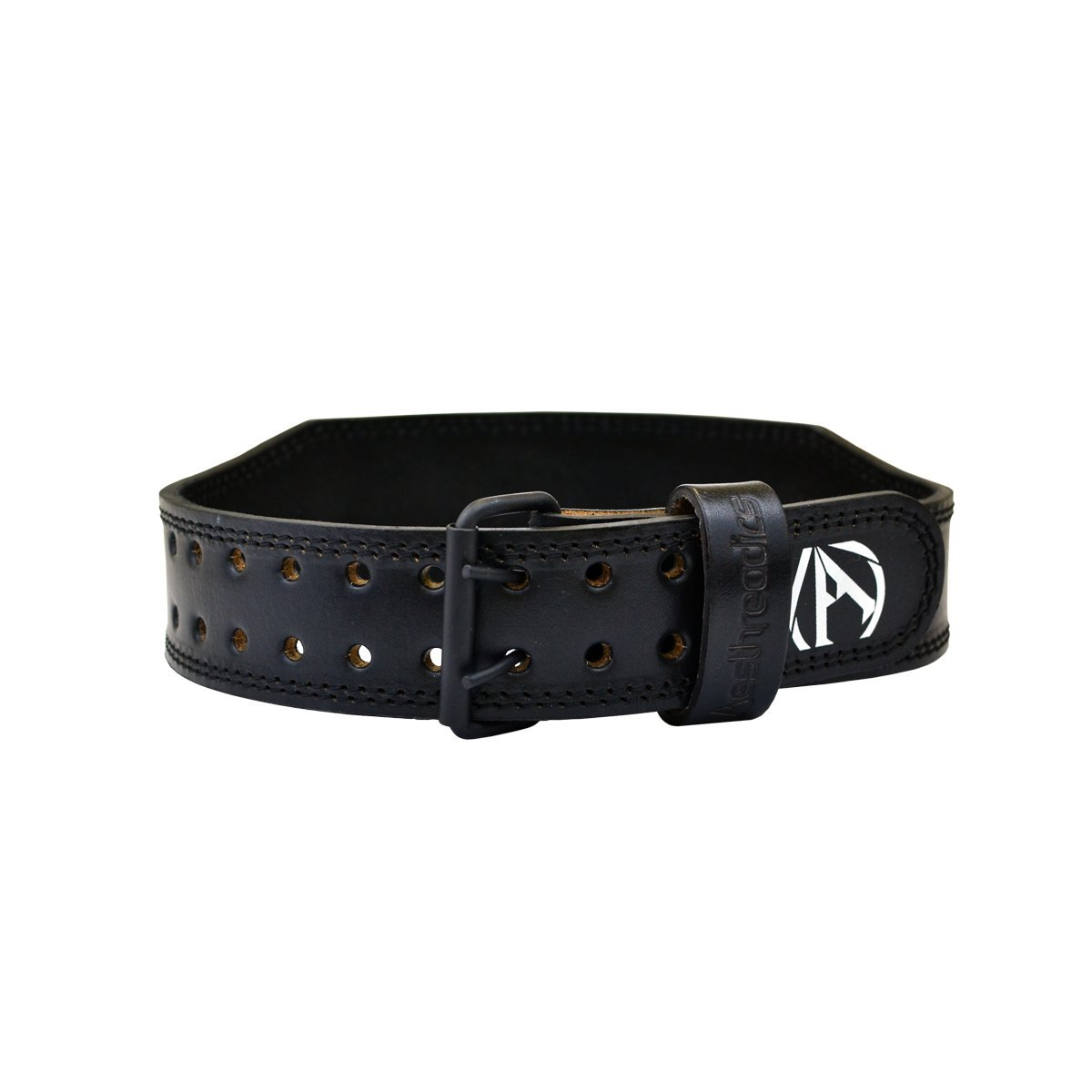 Aesthreadics Black Weight Lifting Belt (Medium 28-34) by Aesthreadics