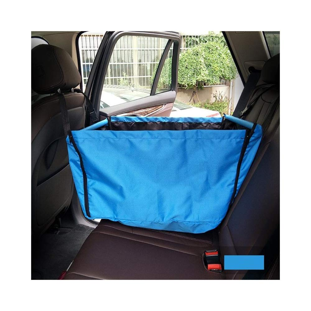 QZQWQNA Pet Car Hammock Carriers Basket Travel Portable Foldable Storage Bag Waterproof Back Seat Covers For Dog Carrying