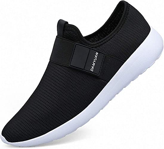 VAMJAM Mens Casual Athletic Sneakers Fashion Lightweight Breathable Mesh Running Shoes